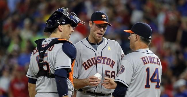 Odor homers again, Rangers beat Astros to pad AL West lead