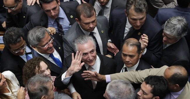 Correction: Brazil-Political Crisis story