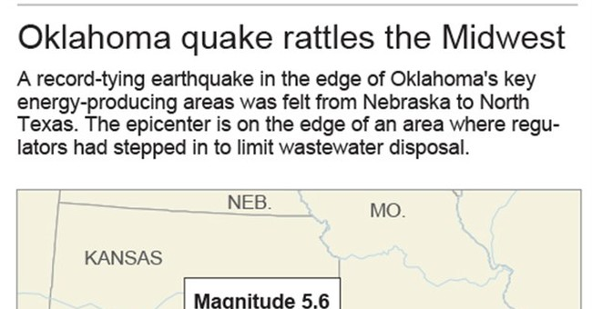 Wells closing after Oklahoma quake fraction of state's total