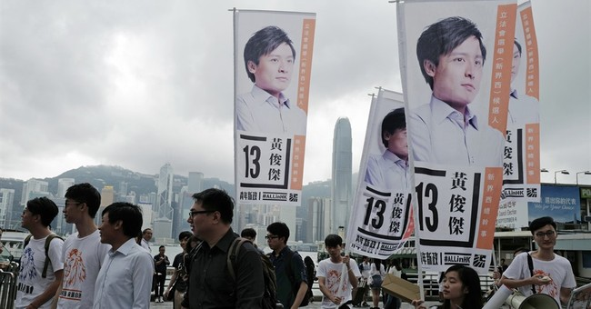 The Latest: 3.7 percent Hong Kongers voted in 2 hours