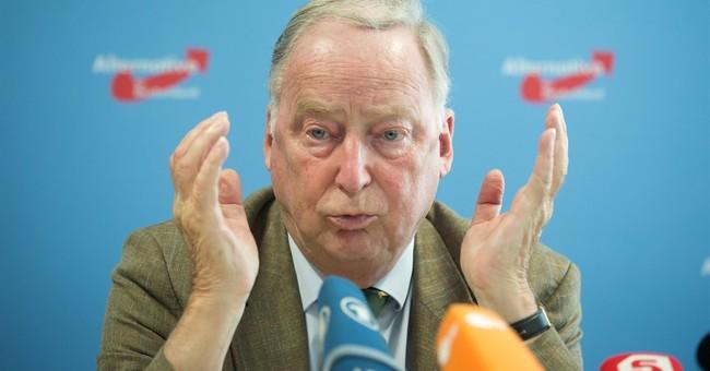 German nationalists seek gains in Merkel's political base