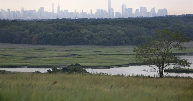 NYC garbage dump world's largest landfill-to-park project