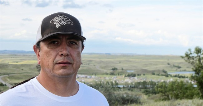 'Our cause is just,' says tribal leader in pipeline protest