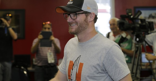 Earnhardt Jr. said lingering symptoms kept him from racing