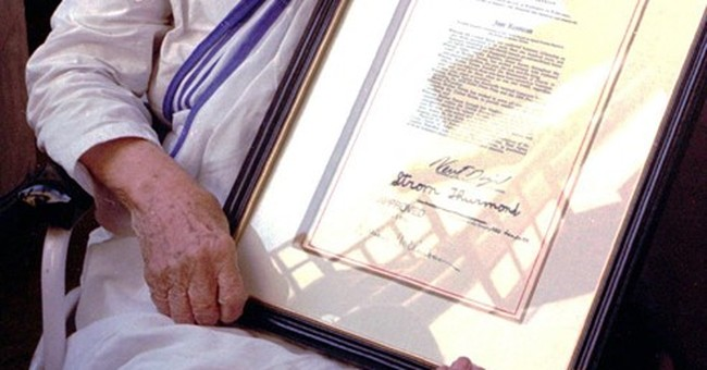 Significant events in the life of Mother Teresa