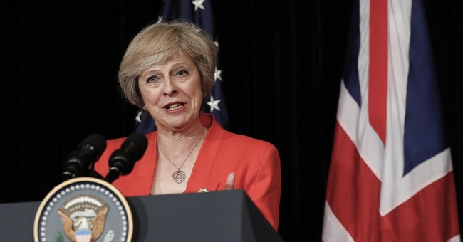May warns of 'difficult times' as UK prepares to exit the EU