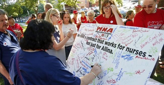 Nurses set to strike over insurance at 5 Minnesota hospitals