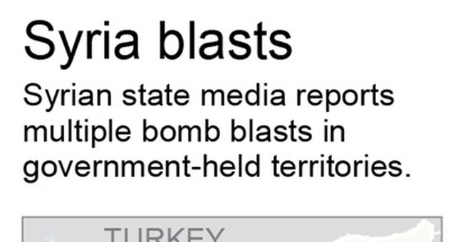 The Latest: Russia urges US to help stop Syria rebel attacks