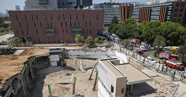 Construction site collapses in Tel Aviv, killing 2 people