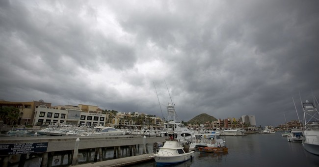 The Latest: Hurricane Newton makes landfall in Mexico
