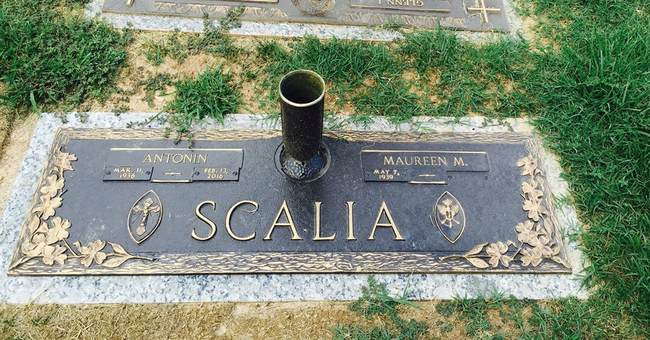 A mystery solved: Where is Scalia buried?