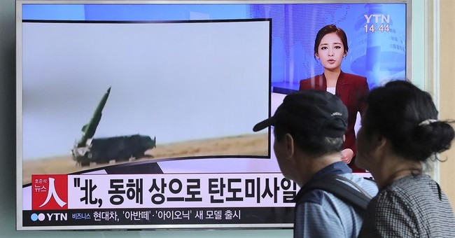 Seoul says North Korea fires 3 medium-range missiles