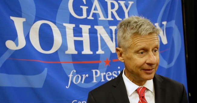 What If: Could Gary Johnson get hot and play the spoiler?