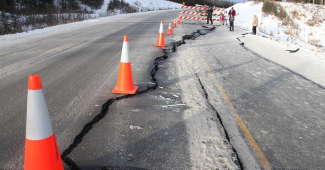 The Latest: Alaska earthquake caused only minor road damage