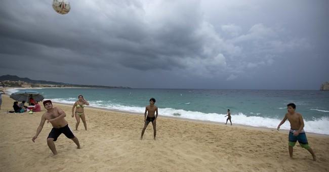 The Latest: Hurricane Newton makes landfall in Mexico