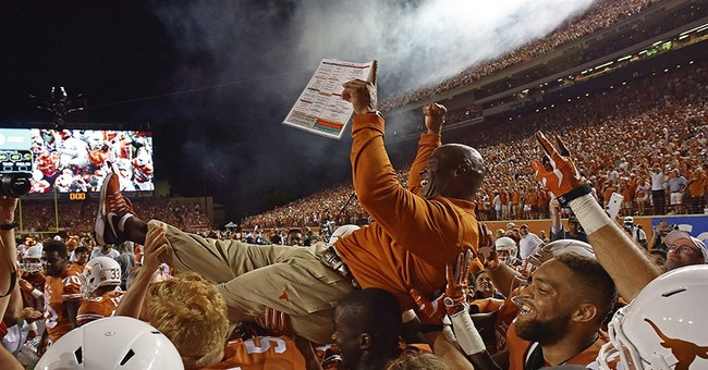 Longhorn Leap: Texas in AP Top 25 for 1st time under Strong