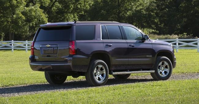 Fact sheet: 2016 Chevrolet Tahoe