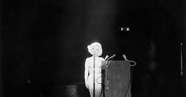 Marilyn's 'Happy Birthday' gown going to auction in the fall