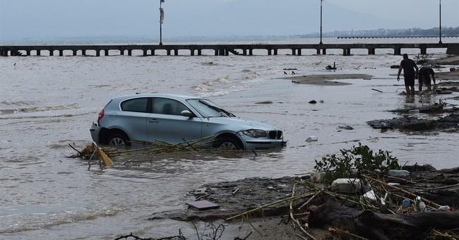 Floods after heavy rain in Greece leave 4 dead, 1 missing