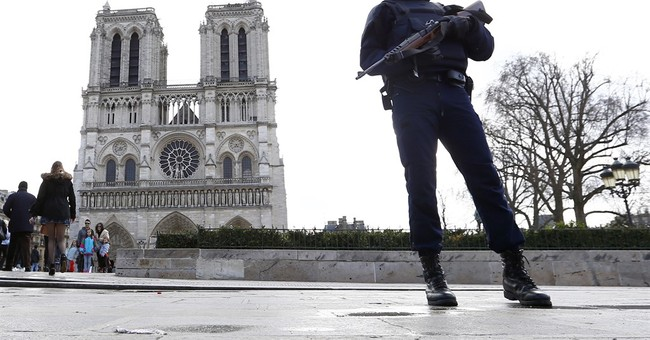 Couple held after gas canisters found near Paris' Notre Dame