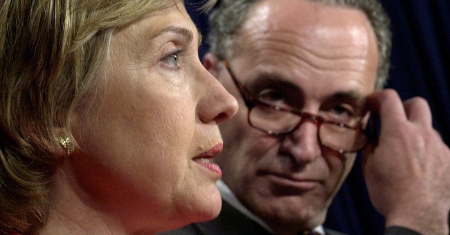 Once rivals and allies, Clinton, Schumer eye new partnership