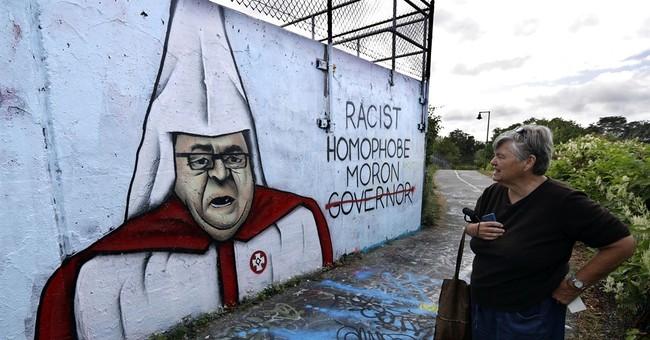 Mural of incendiary Maine governor in KKK garb sparks debate