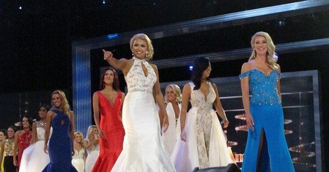 Ohio, Michigan win 3rd night Miss America prelims