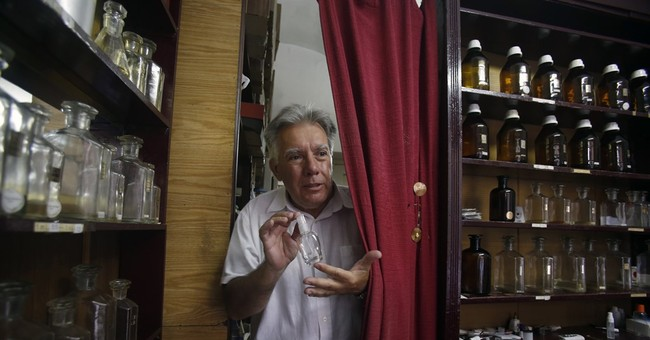 Belgrade's old perfume shop holds back the years