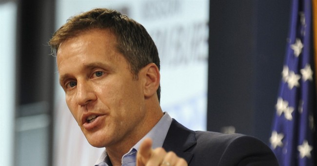 Missouri governor candidate's salary from charity questioned