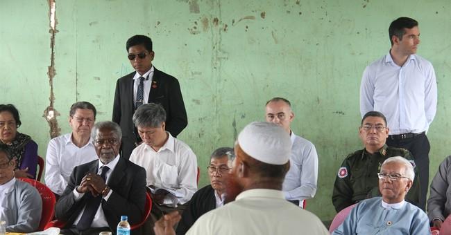 Myanmar's Rohingya minority welcomes Kofi Annan mission