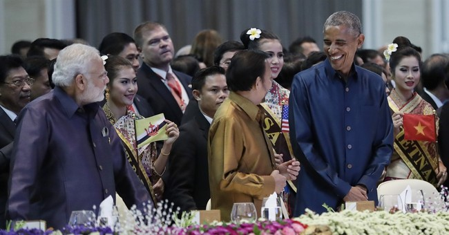 The Latest: Philippine official says Obama and Duterte met