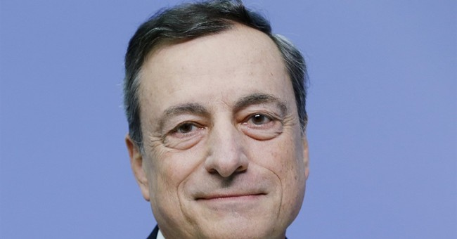 The Latest: ECB projects slow increase in inflation