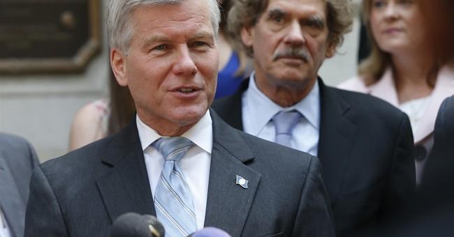 Feds drop charges against former Va. Gov. Bob McDonnell