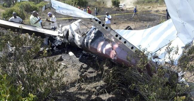 Kenya police: 1 dead, 5 survive plane crash in Rift Valley