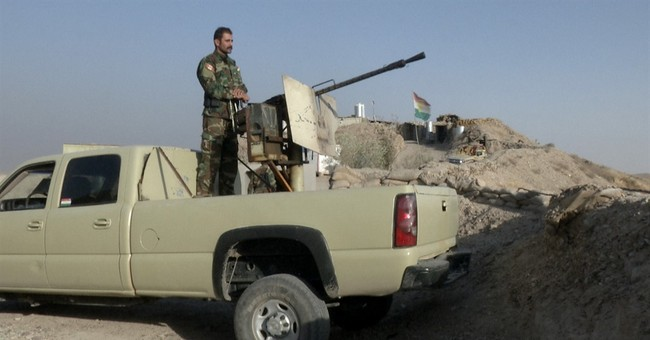 Iranian faction among Kurds trained by US against militants
