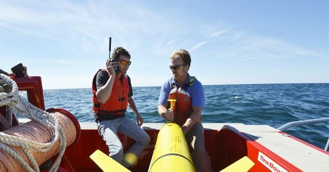 Scientists use undersea drones to help predict hurricanes