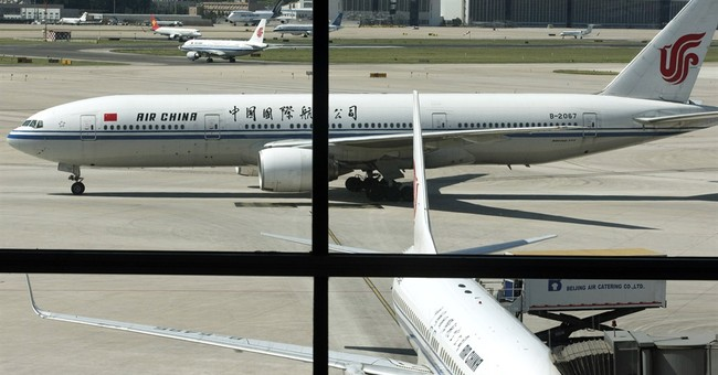 Air China removes mag with offensive article about London
