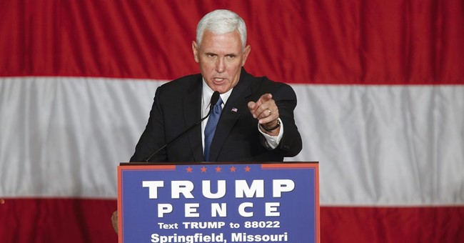 Pence sees Trump as fitting heir to Reagan mantle