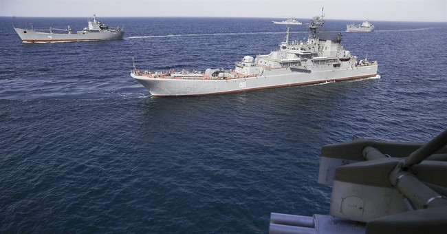 Russia holds large-scale military drills in Crimea