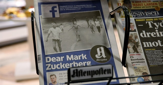 Aide: Facebook removed PM's 'napalm girl' protest