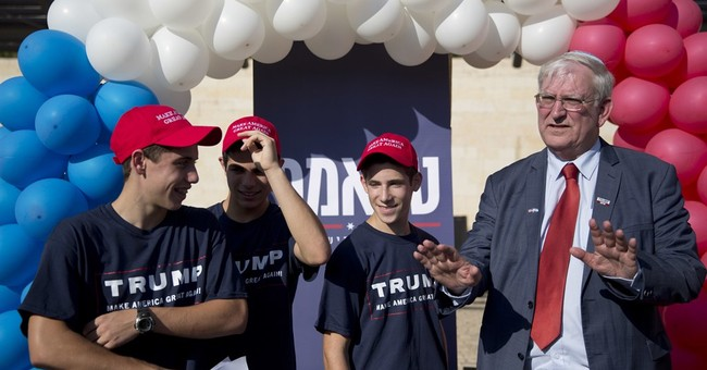 Trump supporters court Jewish settlers in the West Bank