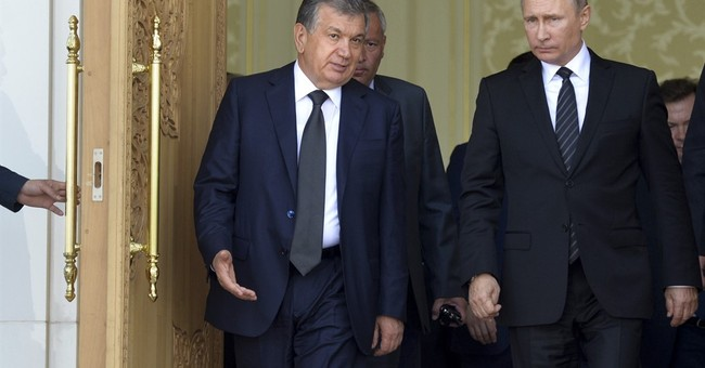 Uzbekistan's new leader pledges better ties with Russia, US