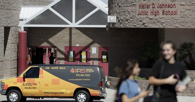 EPA puzzled by mercury amount at Vegas middle school