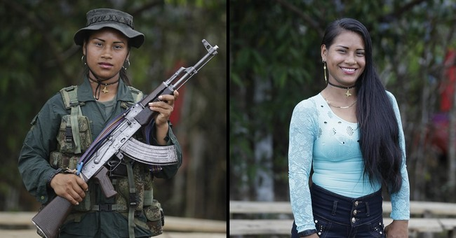 AP PHOTOS: In Colombia jungle, rebels prepare for peace