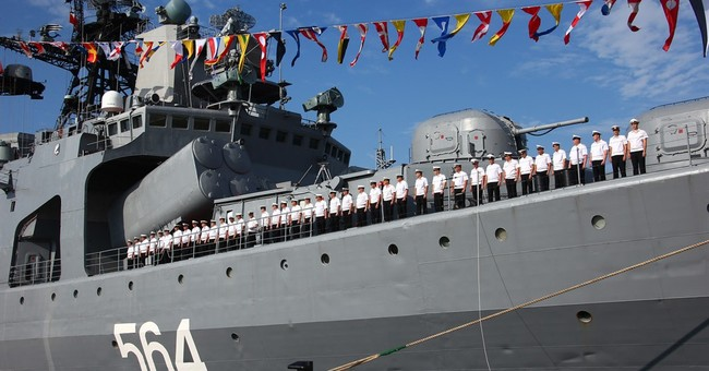 China, Russia launch South China Sea naval war games