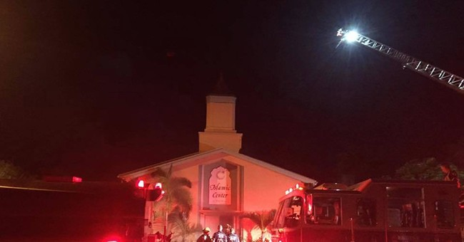 Islamic community plans to rebuild mosque damaged in blaze