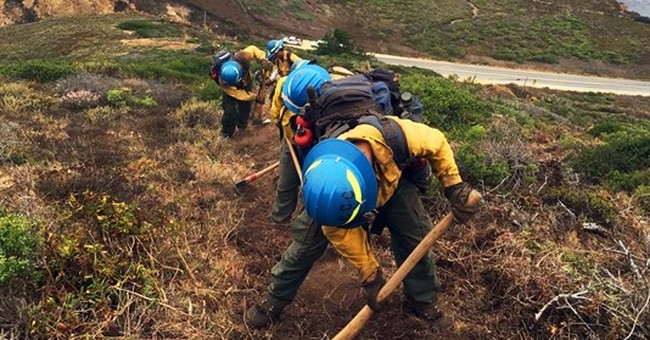 California turns to civilians as inmate firefighters dwindle