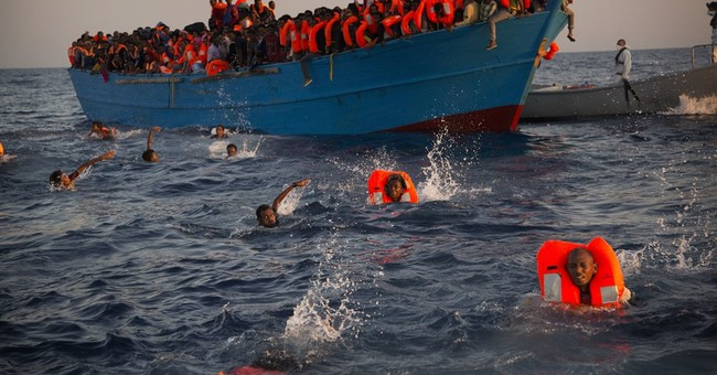 AP photographer recalls drama of Mediterranean rescue