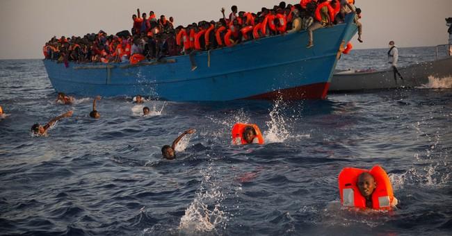 AP photographer recalls drama of Mediterranean rescue