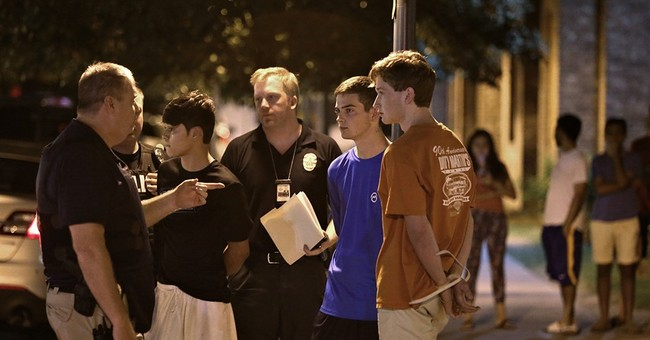 Teen arrested in shooting at Texas fraternity party